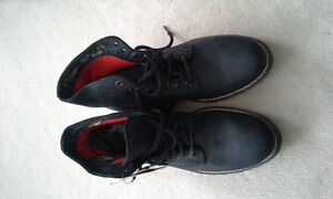 Black Superdry Boots, Size 9 (never worn) - $75