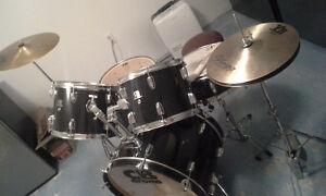 Batterie Complète CB AVEC Cymbales et Banc (cymbal, Drum)