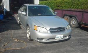 2006 Subaru Legacy Sedan needs TLC