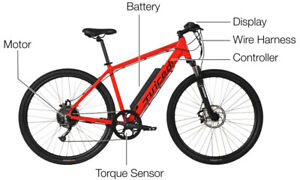 E Bike Bicycle Electrique Neuf/New 48V 10.8 amps Ultra rapide