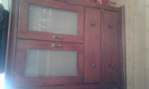 Need gone! Solid wood wall  medicine cabinet