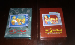 The Simpson's DVD complete season 2 and 5