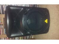 behringer b615d powered speakers