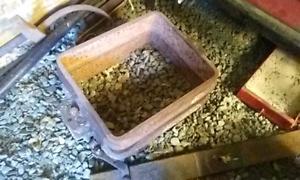2 layer casting pot