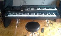 Piano Numérique + Clavier + Modules (son et Rhytme) + Pédale