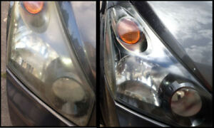 Machine Buffing / Paint Scratches / Headlight Restoration $30