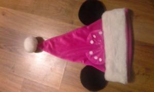 Minnie Mouse Santa Hat