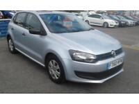 2010/60 Volkswagen Polo 1.2 S MET SILVER 3 OWNER 12 MONTHS MOT 2 KEYS
