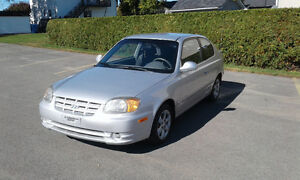 2005 Hyundai Accent GS Coupé (2 portes)