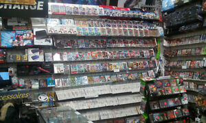 Wii console$59.99,Huge choice of games,N64 console$49.99,