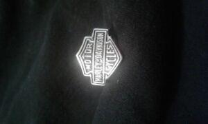 Harley biker silver mans ring