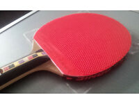 DONICE TABLE TENNIS PINPLE BAT FOR HAND SHAKE GRIP - EXCELLENT CONDITION