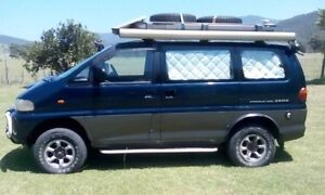 Mitsubishi Delica 2800 Turbo Diesel Space Gear Cairns City Preview