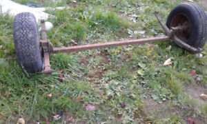 5 ft trailer axle for sale