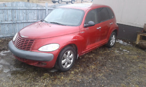 2002 Chrysler pt cruser limited edition