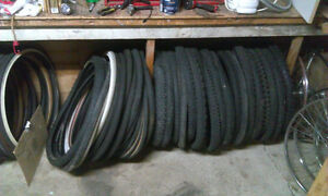 """700C and 26"""" wheels and tires"""