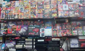 Spécial sur les jeux vidéos et les consoles,N64,Ps3,Nes,Ps3,Dvds