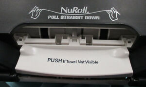 GP - NuRoll touchless towel dispenser 54087 with Smoke Color Stratford Kitchener Area image 4