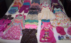 Girl's Summer Clothes Size 5/6 T