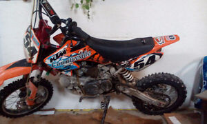 pimped out pit bike wrong number on add at first
