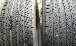 TIRES 15&16in, 3 pairs