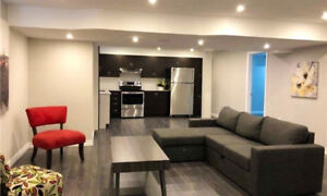 Spacious Basement Apartment on Rent