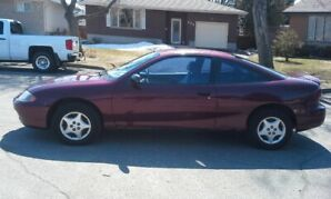 `03 CHEVY CAVALIER 4CLY 5SPEED STANDARD,2DOOR ONE OWNER