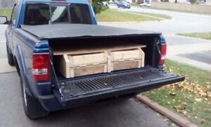 HOME MADE HIDE AWAY PICK UP RAMP