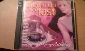 Growin Up Too Fast-The Girl Group Anthology 2 CD Set for Sale