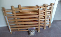 Evenflo Top of Stair wooden gates