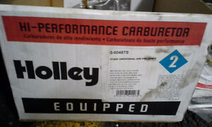 NEVER USED HOLLEY 600 CFM FOUR BARREL STREET CARBURETOR
