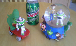 Toy Story items from the Disney Store