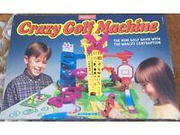 Waddingtons Crazy Golf Machine Game 1995