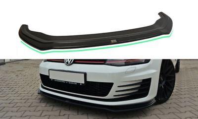 VW GOLF 7 GTD GTI Diffusor Lippe Frontansatz Frontlippe Spoiler V.2 Hochglanz