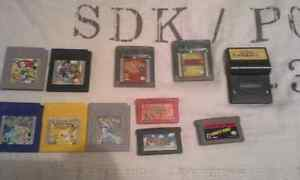 Jeux gameboy (advanced) games