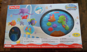 Mobile musical Ocean Wonder de Fisher- Price.