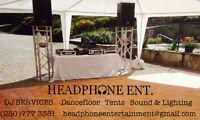 Event rentals and DJ services