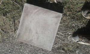 63 Square paver stones in good condition for your garden or yard