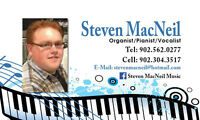 Steven MacNeil - Wedding Pianist + Vocalist