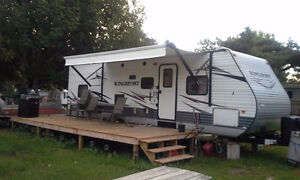 2014 Gulf Stream Kingsport Trailer, Model# 301 TB