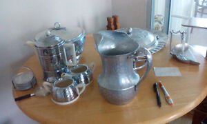 Hand forged aluminum items for sale