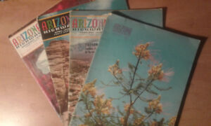 Vintage Arizona Highways Magazines