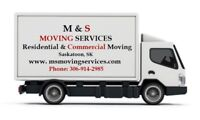 BEST MOVING SERVICES, AFFORDABLE MOVERS, SASKATOON