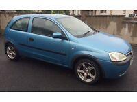 2002 Vauxhall Corsa 1.0 Petrol with Full years MOT