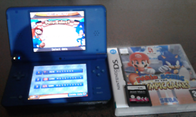 Ds xl complete with charger and 3 games