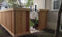 FENCES, GATES, DECKS, STEPS, GARAGES & SHEDS (780) 217-6350