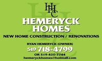 HEMERYCK HOMES CONSTRUCTION