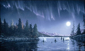 """Limited Edition """"Northern Delight"""" by Ervin Molnar"""