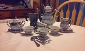 ANTIQUE BAVARIA ESPRESSO SET