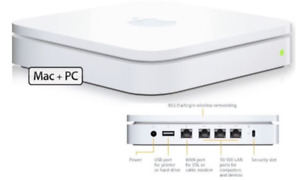 Airport Extreme dual band (5th gen) 802.11a/b/g/n